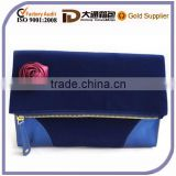2015 Best Selling Velvet Cosmetic Bag Set Fashion Wholesale High Quality Toiletry Lady Wash Bag