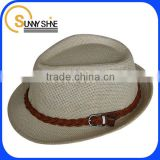 Sunny Shine Wholesale Custom Straw Paper Hat for Men                                                                         Quality Choice