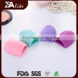 High quality top selling cosmetic silicone makeup brush cleaning pad