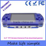 Durable Battery Handheld PMP Mp5 Game Player With Built In 2000 Games Free Download