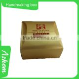 Hot sell Christmas gift box handmaking paper casket for perfume with customized design, DL226