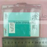 transparent soft pvc id card holder