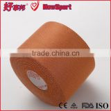 2014 Wholesale Medical Rayon Sports Adhesive Bandage Tan Zinc Oxide Rigid Strapping Types of Medical Tape