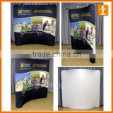 Printed pvc trade show display/pvc counter display
