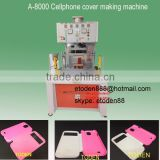 leather case protector skin cellphone cover making machine