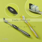 FDA Toothbrush Manufacturer Wholesale Adult ToothbrushWith Tongue Cleaner                                                                         Quality Choice