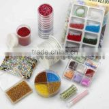 Beautiful glass acrylic beads