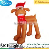DJ-181 inflatable brown dog inflatable christmas decoration outdoor garden items