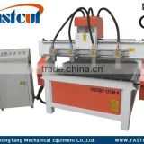 multi- spindle engraving machine with processing acrylic sheet type materials FASTCUT-1313B-4