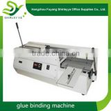 The factory direct price cheap glue binding machine