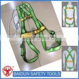 industrial safety belt/ full body harness with safety lanyard/rope