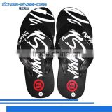 PE flip flop EVA slippers for custom printed beach rubber flip flop