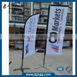 Beach Flag Aluminum Pole Brand Exposure Standard Aluminum Pole with Custom Printed Banner