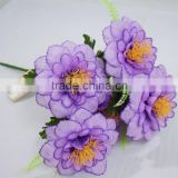 cheapes 7 heads artificial big peony flower silk peony flower promotional