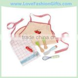 Kids Kitchen Accessories-Apron and Utensil Set