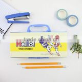 XG-20021 Wenzhou paper pencil case custom multifunction pencil case with code lock