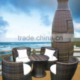 wicker patio furniture Wicker 5 Piece Furniture Package