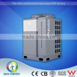 air source bathroom heater heating technology group heat pump air to water heating cooling