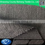 Cotton polyester knit fabric 55%polyester 45% rayon jersey knit fabric for men's trousers