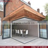 INquiry about Aluminum sliding folding door outdoor folding door price