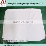 100% Cotton White Textile Wiping Rags With High Quality (USED & Bleaching & Sterile)