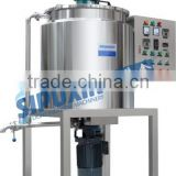 2016 High quality detergent powder mixing tank machine with agitator