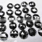 Super Jet Black Loose Moissanite Diamonds Excellent Princess Pear Cushion Shape At Cheap Price