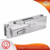 Superior Quality Lowest Price Patch Fitting Glass Door Clamp With Lock Hardware                                                                         Quality Choice