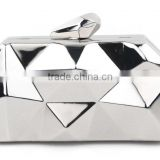 Special shape metal frame box clutch bag with high quality                                                                         Quality Choice