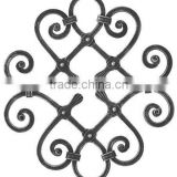 wrought iron rosettes garden decor house gate designs iron window grills designs flower panels