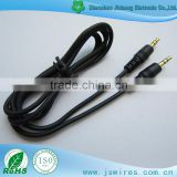 Nickel or Gold plated Stereo Male to Male Jack Aux Cable Stereo Audio Cable For Headphone/Aux/MP3/iPod