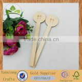wooden swizzle stir stick corktail stick, wooden honey stir stick