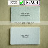 Undyed finger print office stamp pad