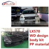 2014 lexus lx570 wald style body kits,wald body kits for lx570,lexus lx570 body kit PP material