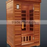 Detox Spa LOW EMF Carbon Far Infrared Red Cedar Sauna For Home Weight Loss (CE/ISO/ETL/C-TICK)