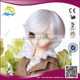 Factory price High Temperature Fiber american girl bjd doll wigs