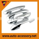 Plastic chrome car door handle cover for toyota corolla 2014 2015 accessories