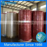 No bubble clear /yellowish opp adhesive products round jumbo tape