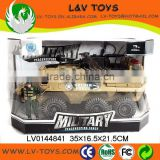 Hot-selling plastic friction car toy military vehicle toy tank