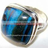 Superlative 925 Sterling Turquoise Ring Exporter Online Silver Jewellery Wholesale Rings