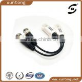 Mini Camera Video Balun BNC Connector CAT5 Coaxial CCTV UTP Extender Cable