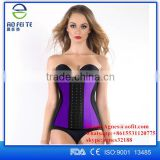 High quality fitness equipment waist trimmer, latex waist trainer corest china online shopping