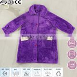 purple fluffy heated bathrobe for children bathrobe and bathrobe china