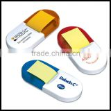 Mini cute custom logo sticky note pad distrib ped sticky note padute one by one use for bank and office