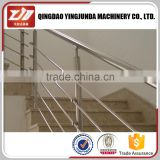 Factory frameless handrail glass clamp railing spigot