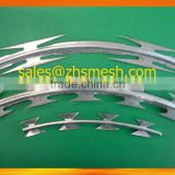 concertina barbed wire of razor blade BTO18 BTO22 CBT65 for sale in the Middle East markets