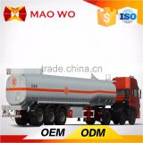 China Hot 50 CBM three axle lpg gas tanker semi trailer for sale