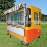 Multifunction mobile food cart with wheels, food grilling cart,shawarma food cart ZQW-C2