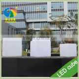 RGB Color Changing LED Cube Chairs Light Cube Seat