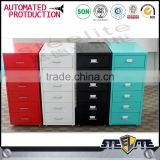 Safe and friendly knock down kids bed beside 6 drawer movable file cabinet for sale